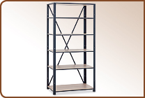 Welded shelf racks