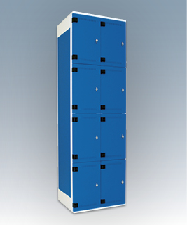 8-box storage lockers