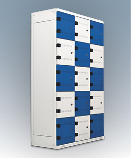 15-box clothes lockers