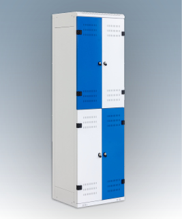 4-box clothes lockers